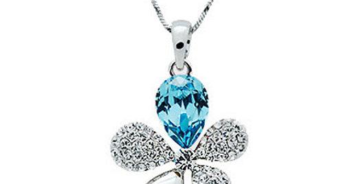 Silver Shoppee Pendant for Women (Silver) (SSPD0268A)