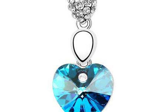 Silver Shoppee Pendant for Women (Silver) (SSPD0272A)