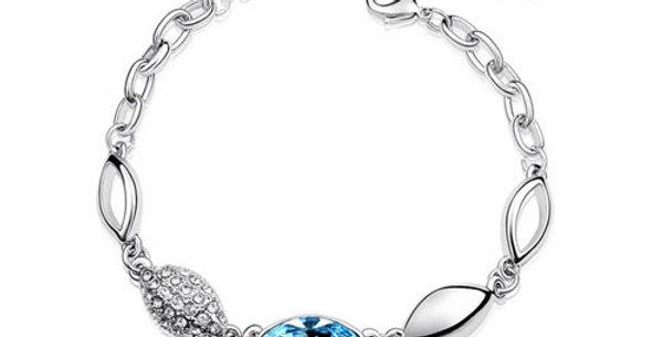 Silver Shoppee Charm Bracelet for Girls (Silver) (SSBR0904A)