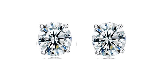 Silver Shoppee Jhumki Earrings for Women (Silver) (SSER0236)