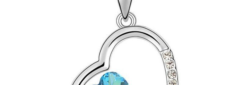 Silver Shoppee Pendant for Women (Silver) (SSPD0568A)