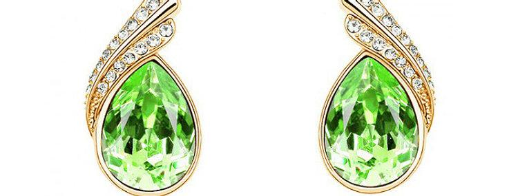 Silver Shoppee Jhumki Earrings for Women (Golden) (SSER0240C)