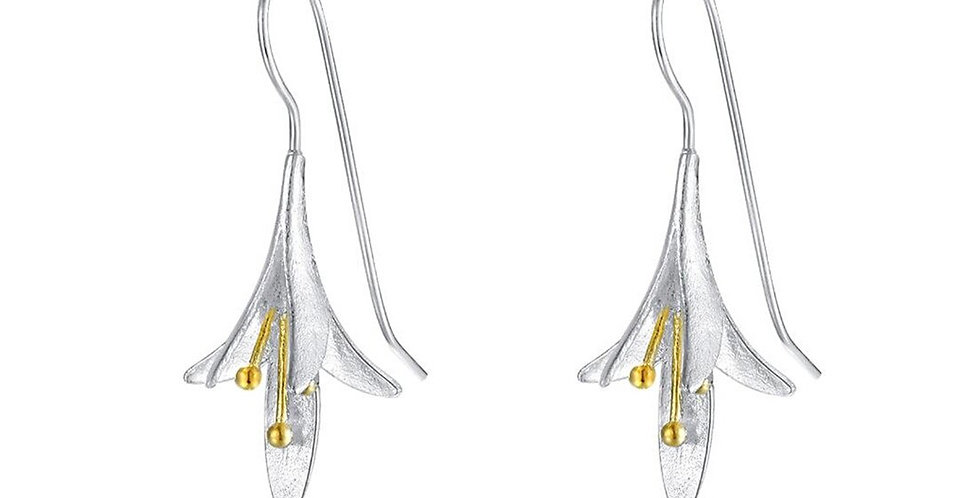 Valentine Special Sterling Silver Drop Earrings for Girls and Women