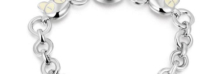 Silver Bling Sterling Silver Bracelet for Girls and Women (SSBR1010)