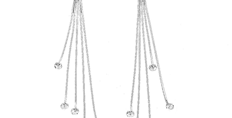 Aspirational heights Sterling Silver Earrings for Girls and Women (SSER1364)