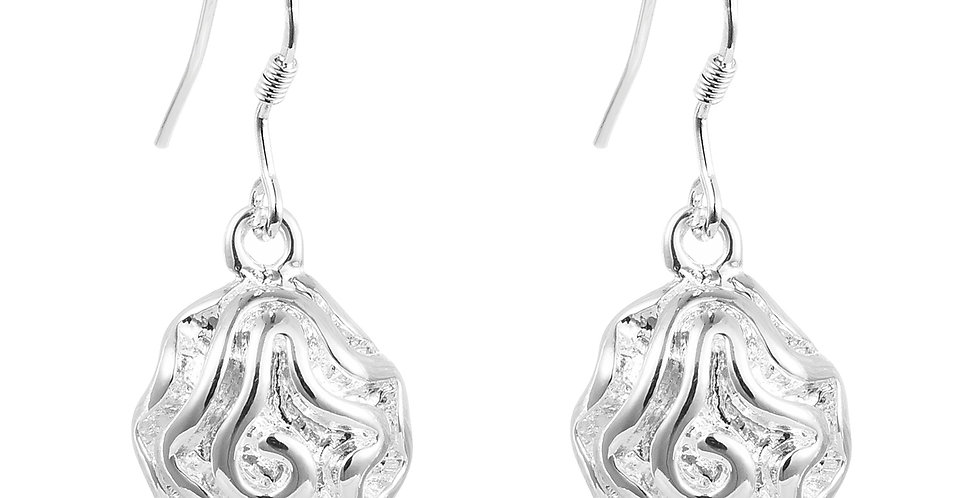 Water Droplet Sterling Silver Earrings for Girls and Women (SSER1259)