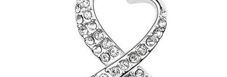 Silver Shoppee Pendant for Women (Silver) (SSPD0543B)