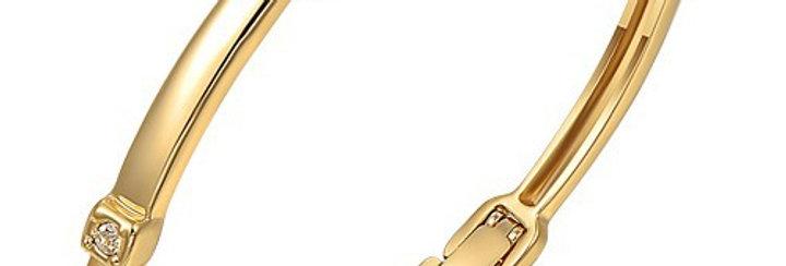 Silver Shoppee Charm Bracelet for Women (Golden) (SSBR0951)