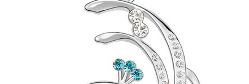 Silver Shoppee Pendant for Women (Silver) (SSPD0530C)