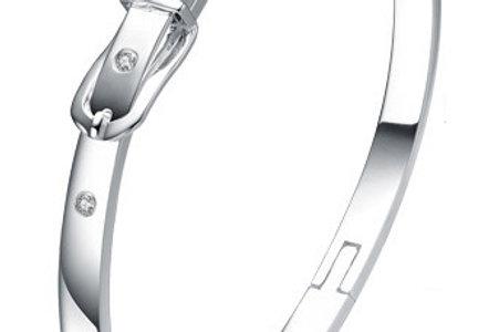 Silver Shoppee Charm Bracelet for Women (White) (SSBR0981A)