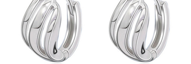 Silver Shoppee 'Mysterious me' Sterling Silver Earrings for Girls and Women