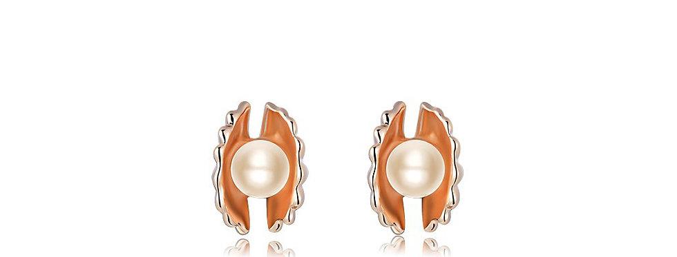 Silver Shoppee Jhumki Earrings for Women (Golden) (SSER1298B)