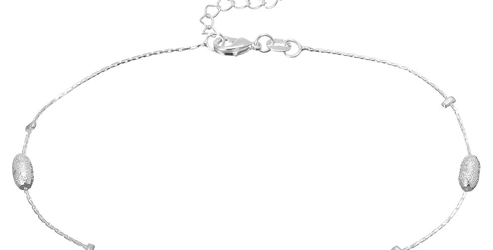 Silver Shoppee Sterling Silver Anklet For Women (SSAN3106)