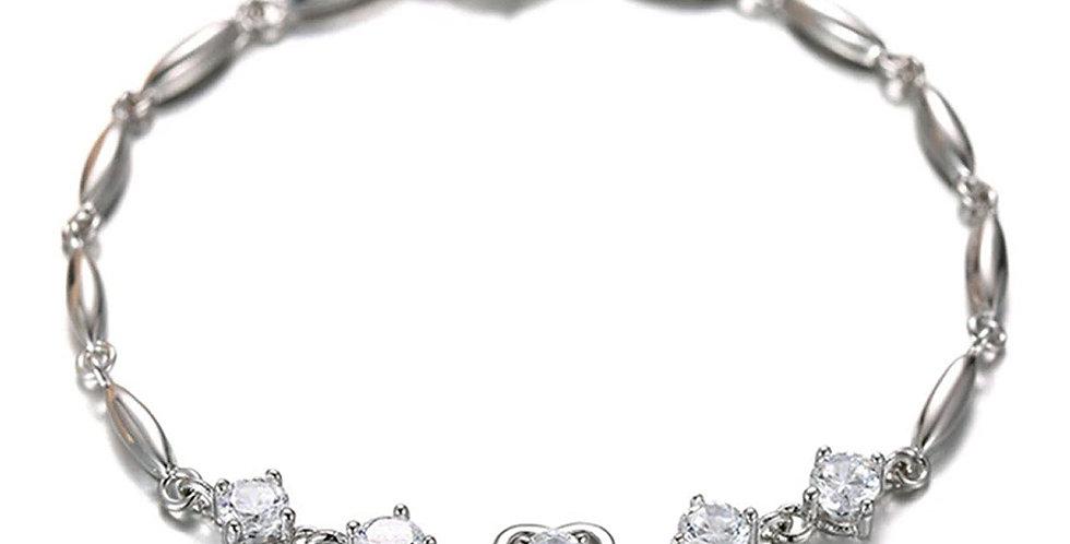 Silver Shoppee Silver Bracelet for Girls and Women (SSBR1068)