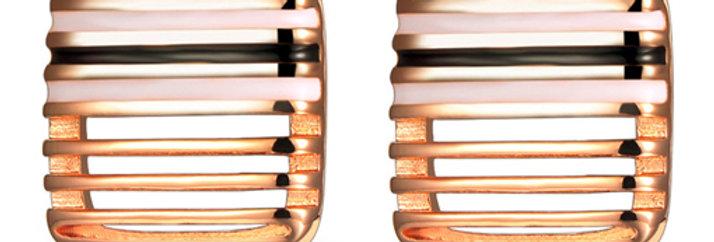 Silver Shoppee Jhumki Earrings for Women (Black) (SSER0292B)
