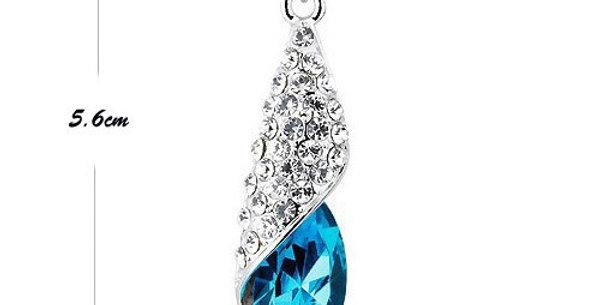 Silver Shoppee Pendant for Women (Silver) (SSPD0209A)