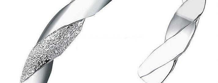 Silver Bling White Gold Plated Bracelet for Girls and Women (SSBR0974)