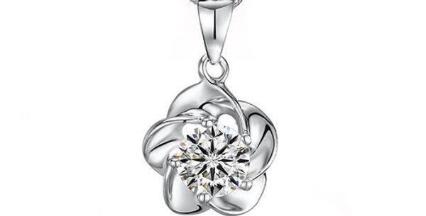 Silver Shoppee Pendant for Women (Silver) (SSPD0206)