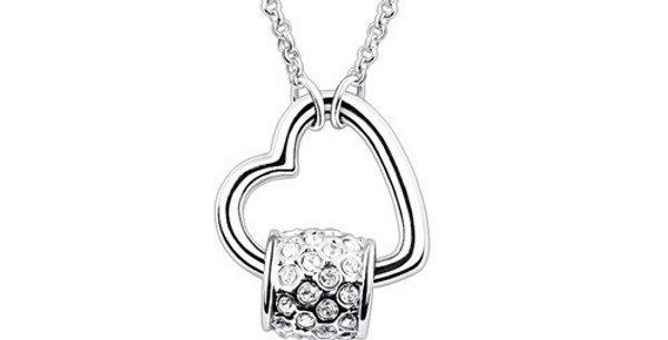 Silver Shoppee Pendant for Women (Silver White) (SSPD0501A)