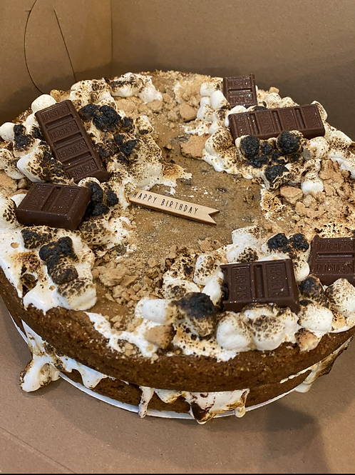 """10"""" Double-Layered Cookie Cake"""