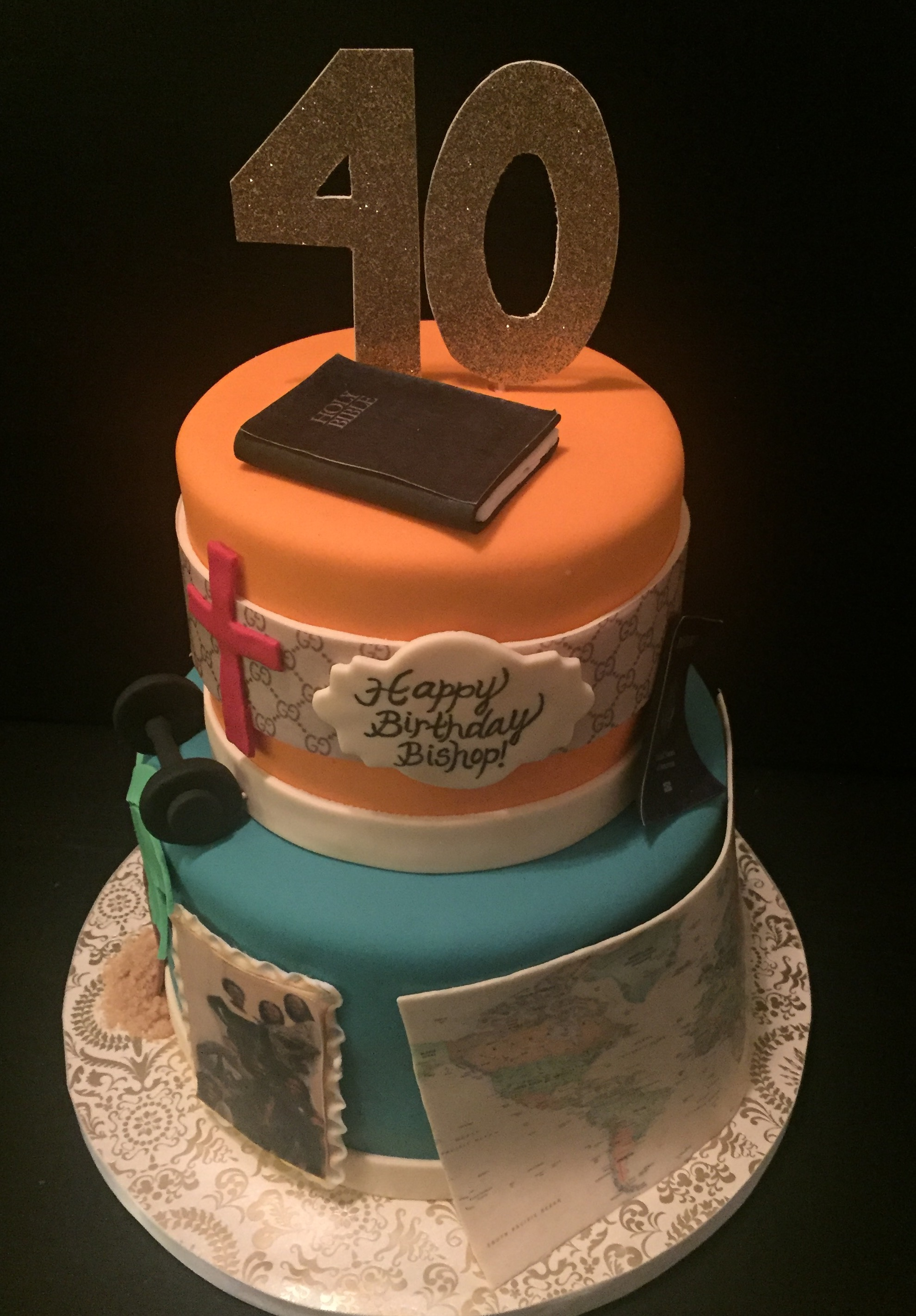 2-Tier Birthday Cake