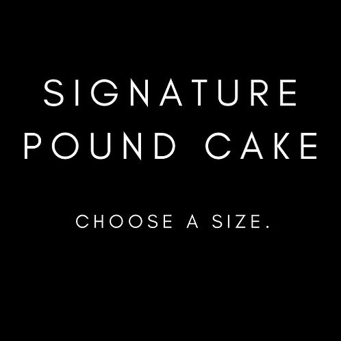 Signature Pound Cake