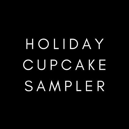 Holiday Cupcake Sampler