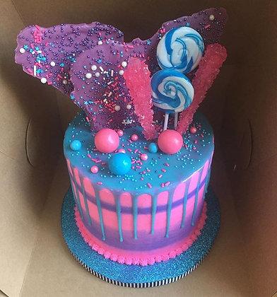 Signature Celebration Cake w/ Candy