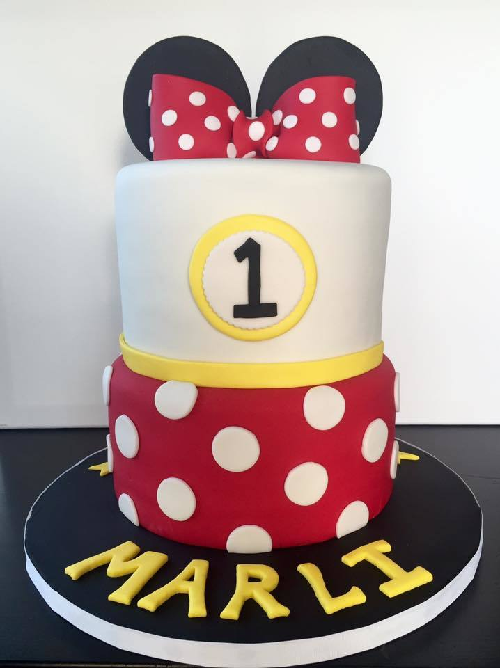 2-Tier Minnie Mouse