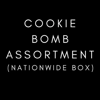 Cookie Bomb Assortment  (4 ct.)
