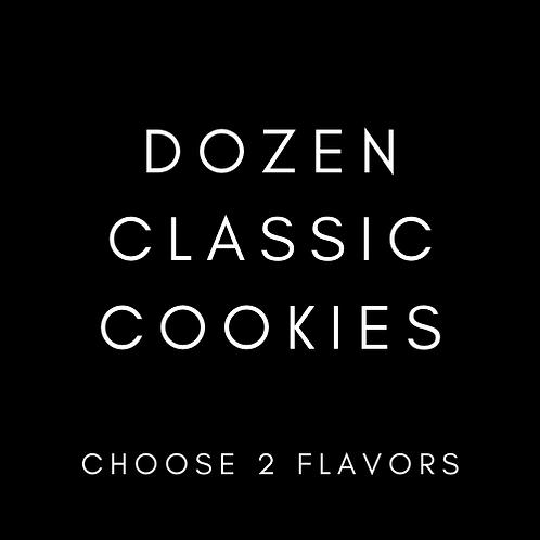 12 Classic Cookies