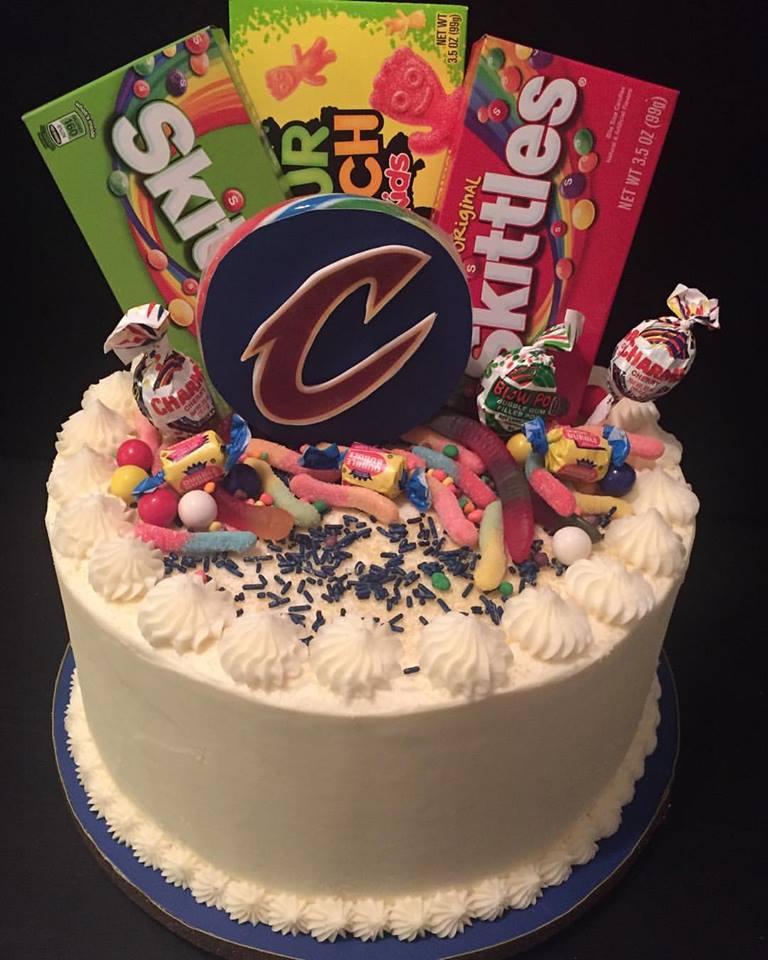 """10"""" Celebration- """"Cavs"""""""