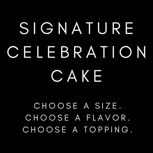 Signature Celebration Cake