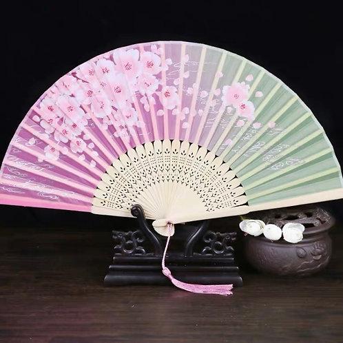 Elegant Fan - Cherry blossom