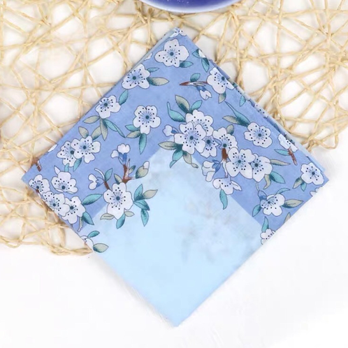 Cotton Handkerchief (Blue)