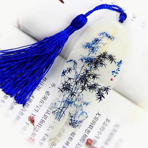 Leaf bookmark Bamboo style 2