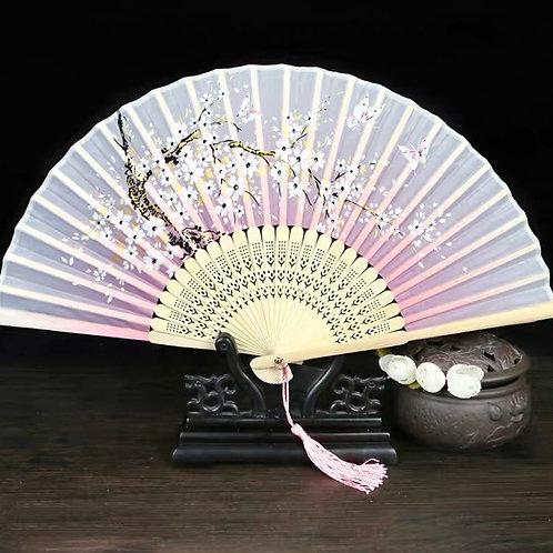 Elegant Fan - Pink style 2