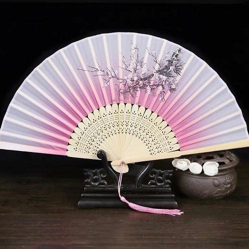 Elegant Fan -Light pink