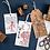 Thumbnail: Oriental Wood Rubber stamp - Lotus flower field