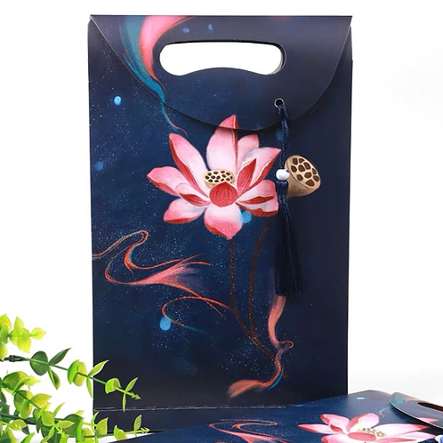 Lucky bag/gift bag-Lotus flower