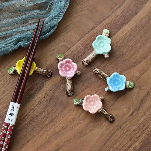 Chopsticks rest - flowers