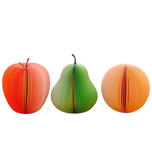 Fruit shape post-it (non-sticky ones)