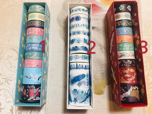 Washi tape set -style 11