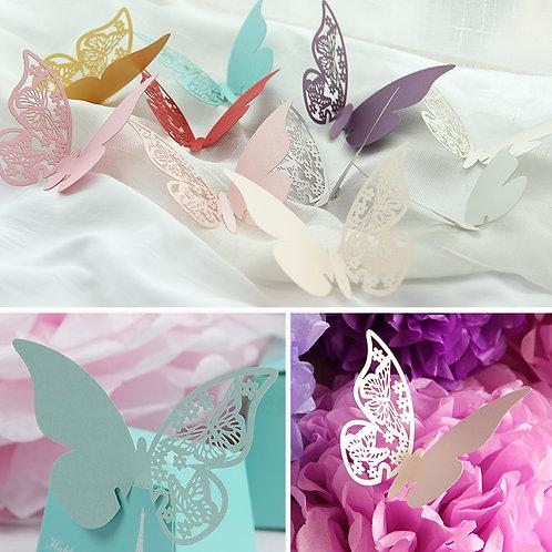 Paper cut butterfly