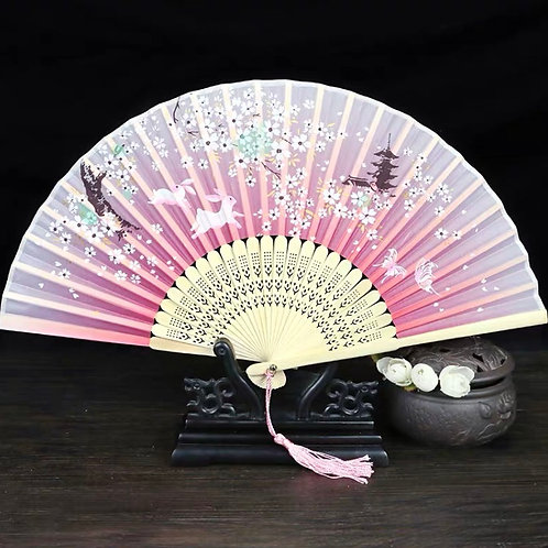 Elegant Fan - Rabbit
