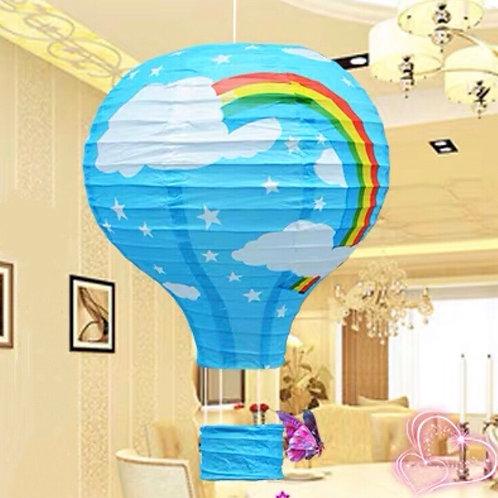 C&C Rainbow hot air balloons (4 colours)