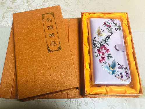 Silk embroidery purse style 4