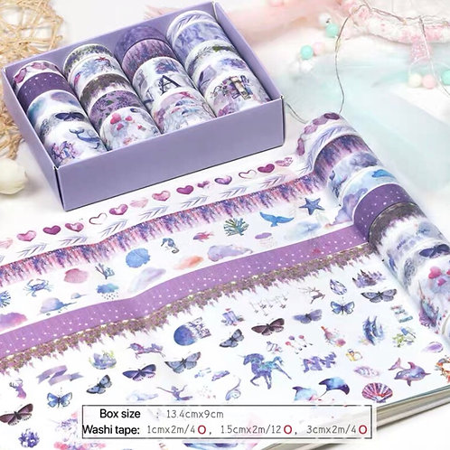Washi tape set - style 6