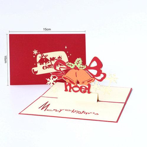 NOEL - Christmas pop up card
