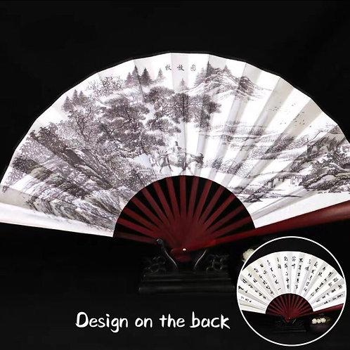 Large Fan - white